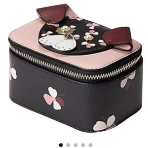Kate Spade Jewelry Floral Pup Organizer NWT